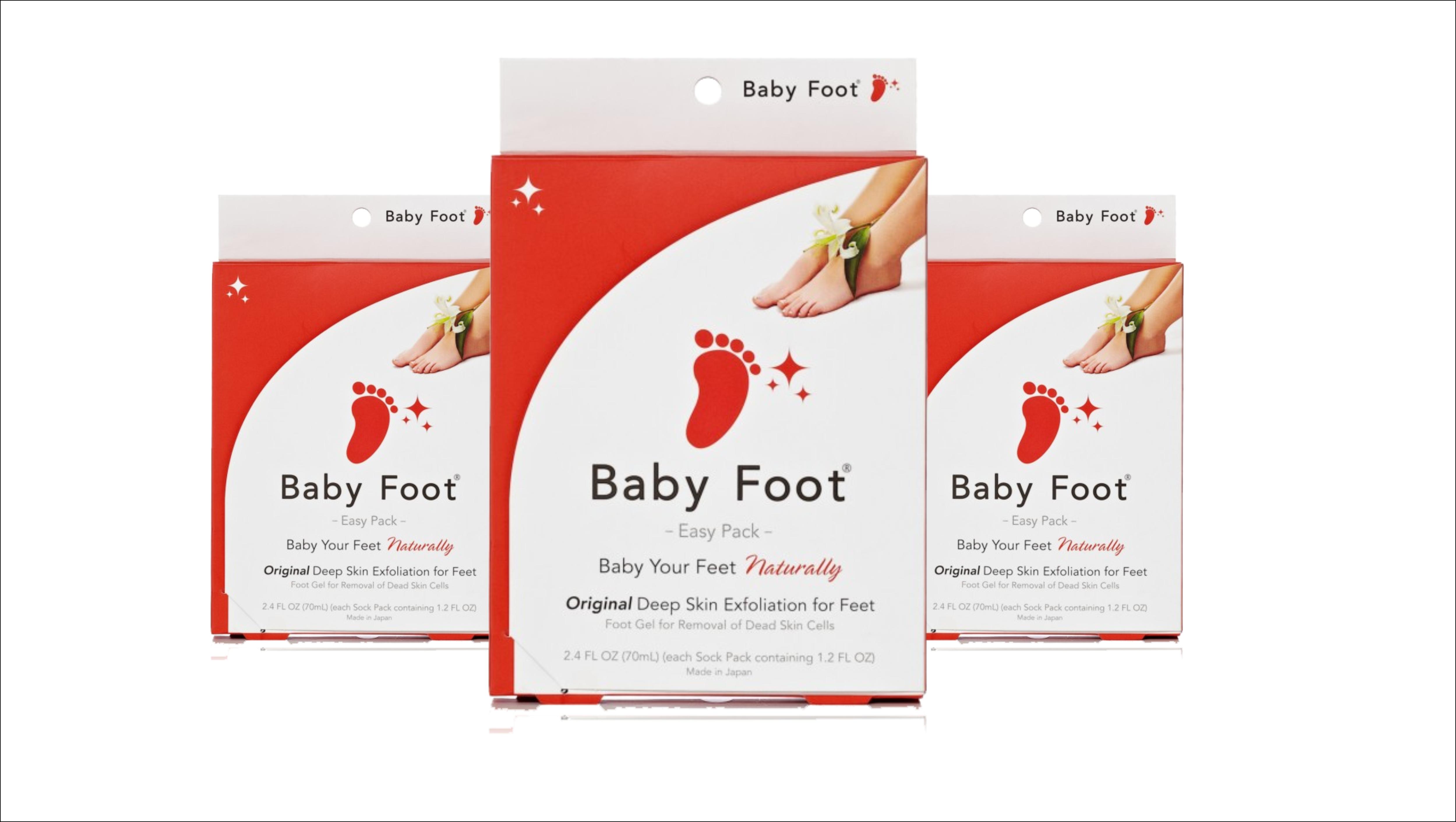 Bebek gibi ayaklar için Baby Foot-